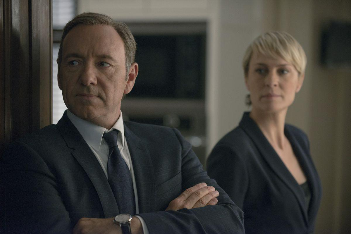 hoc watch GOSSIP | House Of Cards | Kevin Spacey GOSSIP, House Of Cards, Kevin Spacey, NETFLIX, Robin Wright
