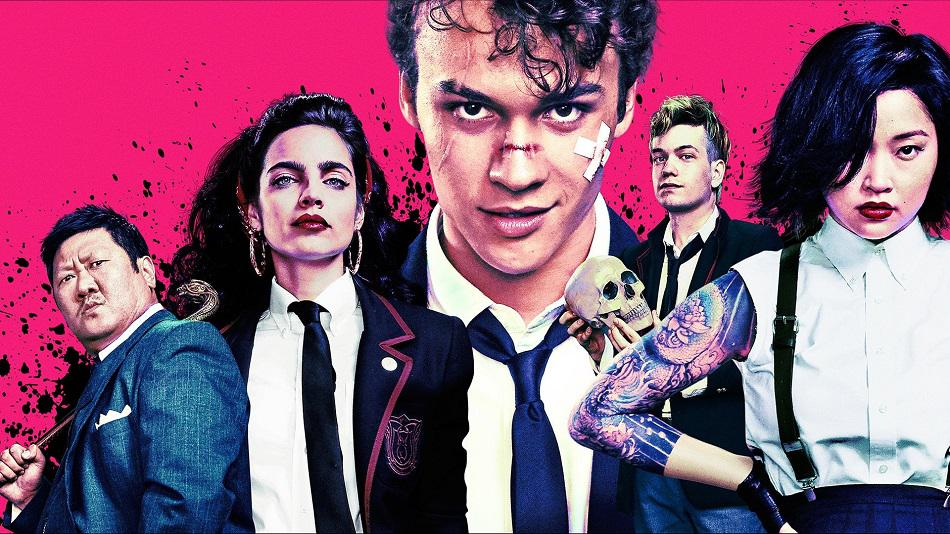 Anthony Russo Anthony Russo | Benjamin Wadsworth | Deadly Class Anthony Russo, Benjamin Wadsworth, Deadly Class, Siobhan Williams, Syfy, Taylor Hickson