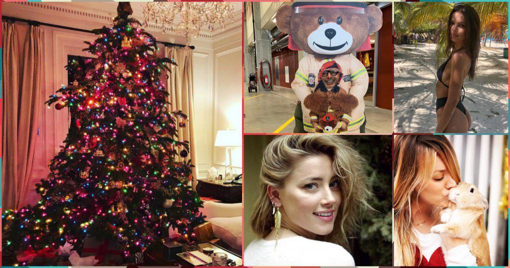 instagram christmas 2 celebrities   GOSSIP   Instagram celebrities, GOSSIP, Instagram, Χριστούγεννα