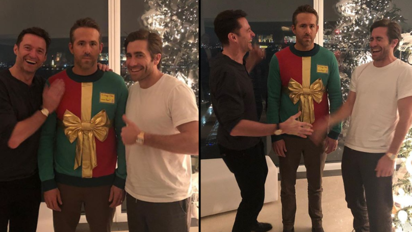 reynolds Hugh Jackman | Jake Gyllenhaal | Ryan Reynolds Hugh Jackman, Jake Gyllenhaal, Ryan Reynolds