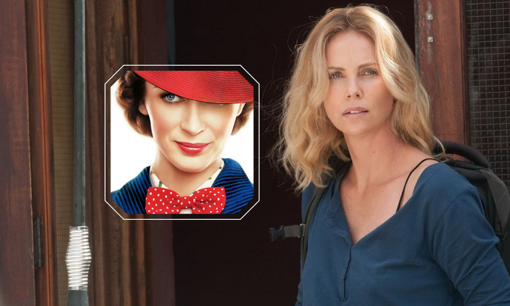 theron blunt Charlize Theron | Emily Blunt | Μαίρη Πόπινς Charlize Theron, Emily Blunt, Μαίρη Πόπινς