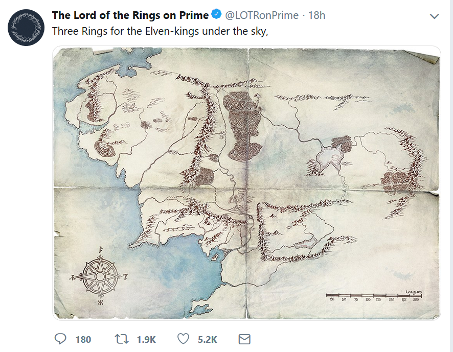 tweet2 AMAZON PRIME VIDEO | J.R.R. Tolkien | Lord of the Rings AMAZON PRIME VIDEO, J.R.R. Tolkien, Lord of the Rings, Twitter