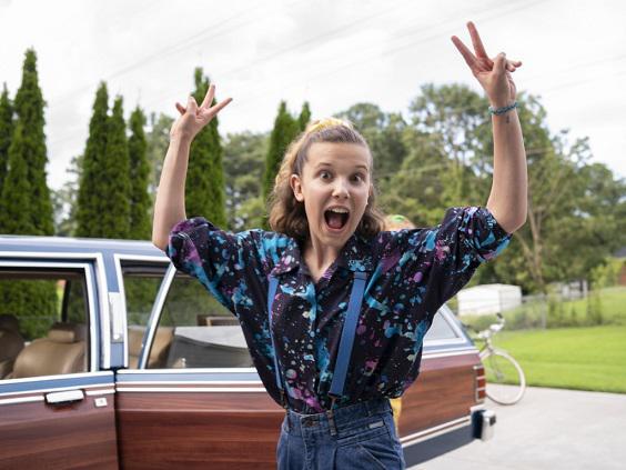 Millie Bobby Brown Eleven | NETFLIX | Stranger Things Eleven, NETFLIX, Stranger Things