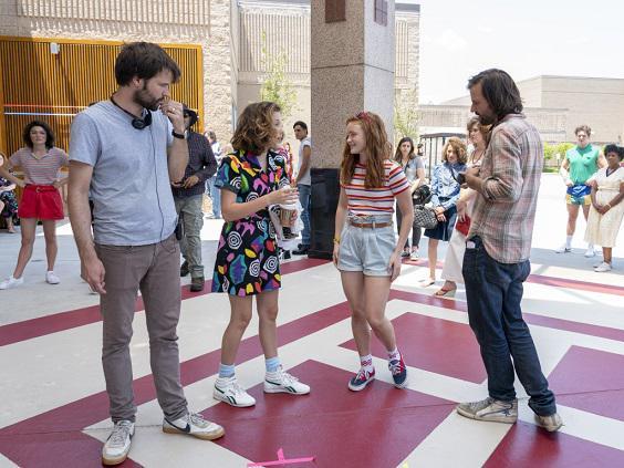 Ross Duffer Millie Bobby Brown Sadie Sink και Matt Duffer Eleven | NETFLIX | Stranger Things Eleven, NETFLIX, Stranger Things
