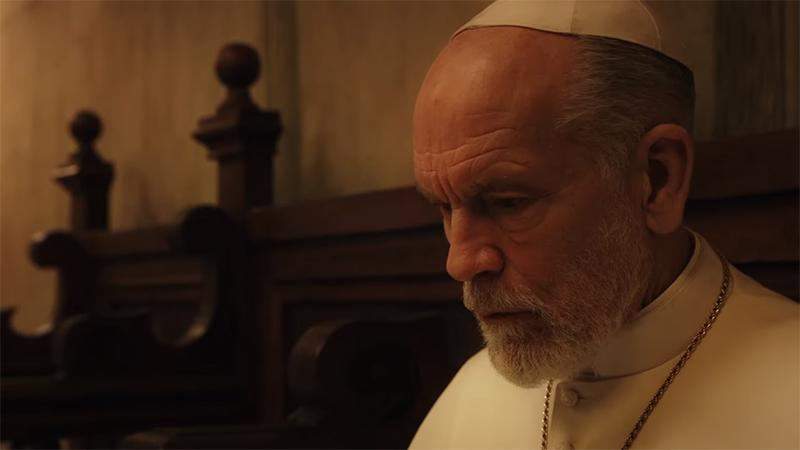 thenewpope John Malkovich | Jude Law | The New Pope John Malkovich, Jude Law, The New Pope, The Young Pope, ΗΒΟ