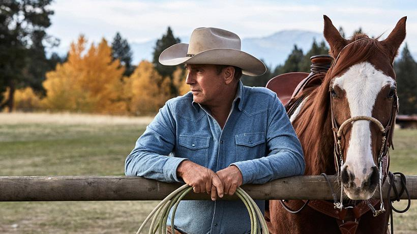 Yellowstone RENEWED Kevin Costner   Luke Grimes   Paramount Network Kevin Costner, Luke Grimes, Paramount Network, Western, Yellowstone, ΑΝΑΝΕΩΘΗΚΕ