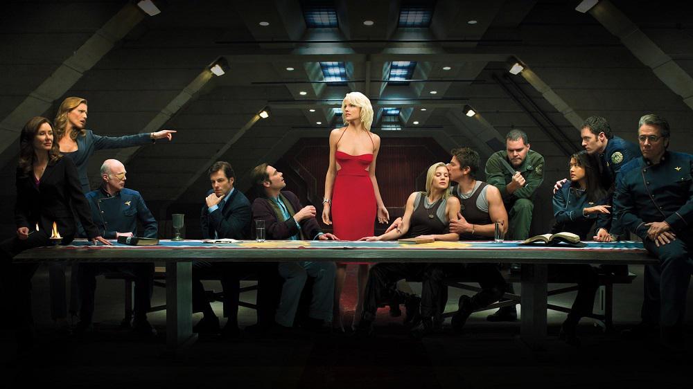 Battlestar Galactica reboot Battlestar Galactica   NBC   Peacock Battlestar Galactica, NBC, Peacock