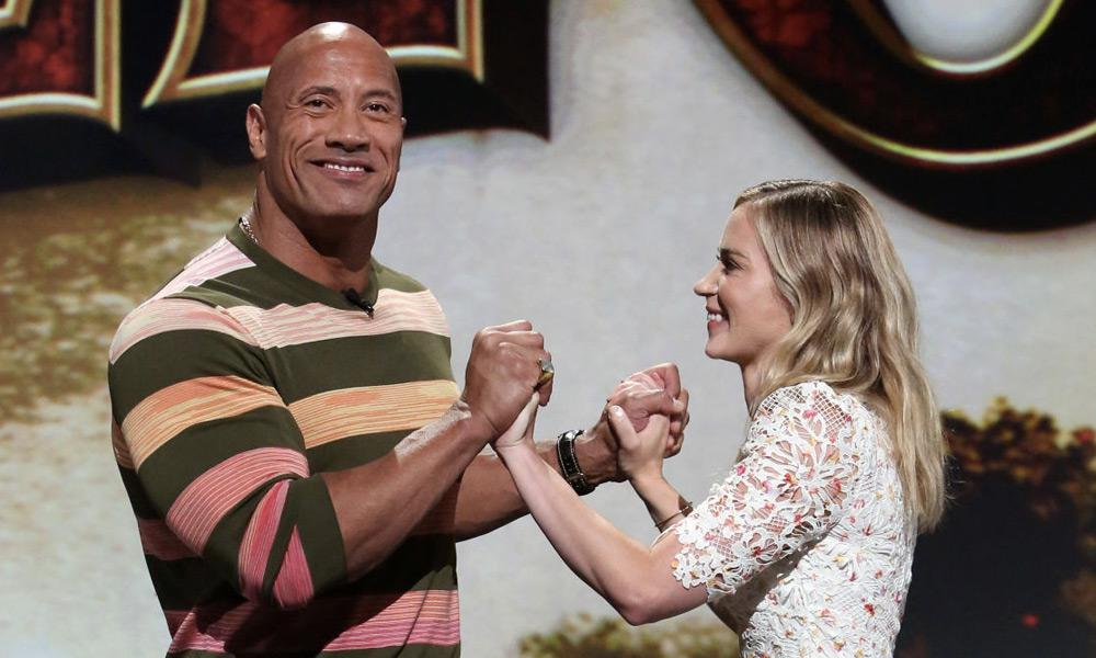 Dwayne Johnson και Emily Blunt Ball and Chain | Dwayne Johnson | Emily Blunt Ball and Chain, Dwayne Johnson, Emily Blunt, NETFLIX