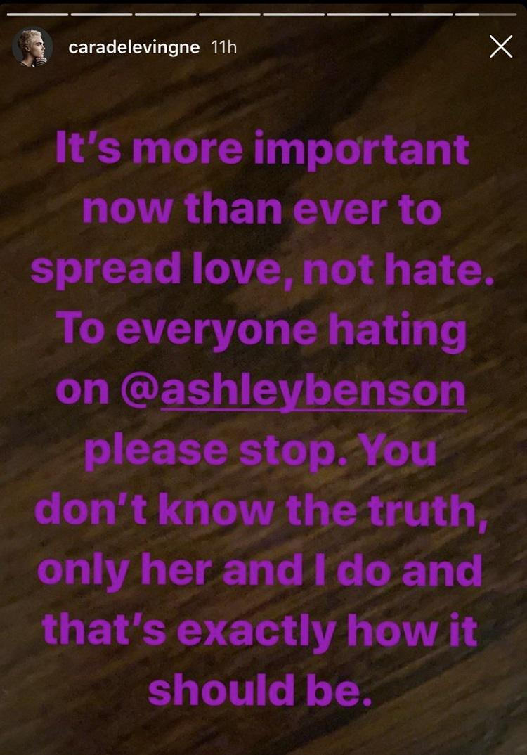 story Ashley Benson | Cara Delevingne | GOSSIP Ashley Benson, Cara Delevingne, GOSSIP