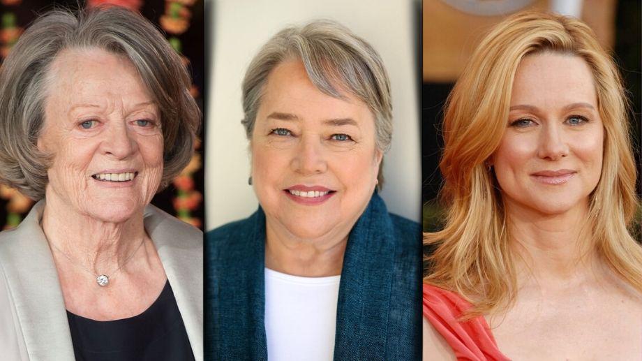 WATCHANDCHILLGR 2 2 Kathy Bates | Laura Linney | Maggie Smith Kathy Bates, Laura Linney, Maggie Smith, The Miracle Club