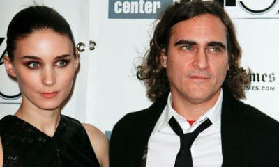 Joaquin Phoenix Rooney Mara GOSSIP Joaquin Phoenix Joaquin Phoenix