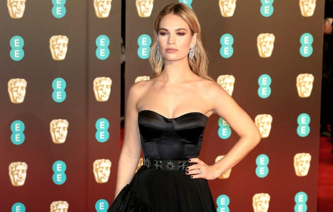Lily James 2 Armie Hammer | GOSSIP | Lily James Armie Hammer, GOSSIP, Lily James
